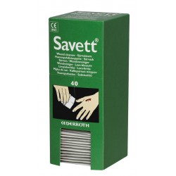 Lingettes Lave-blessure Savett