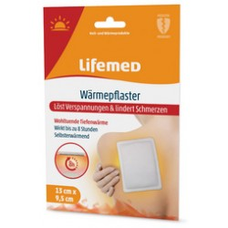 Lifemed Patch chauffant 13 X 9,5 cm